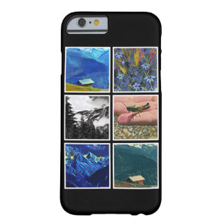 Photo Collage Template Show off Your Memories Barely There iPhone 6 Case