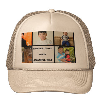 Photo Collage Trucker Hat