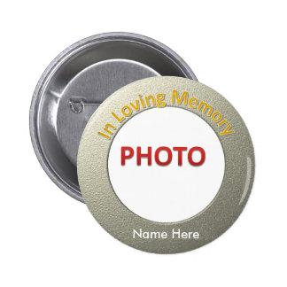 Photo commémorative personnalisée macaron rond 5 cm