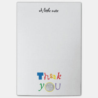 photo customized Thank you Post-it Notes