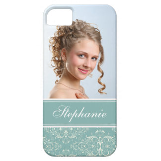 Photo damas green gray label iPhone 5 cases