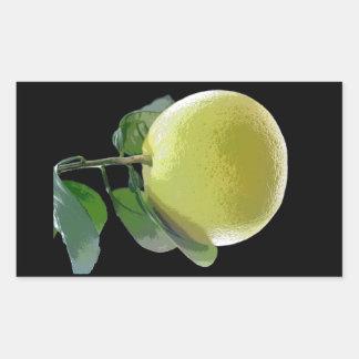Photo d'arbre fruitier de pamplemousse par E.L.D. Sticker Rectangulaire