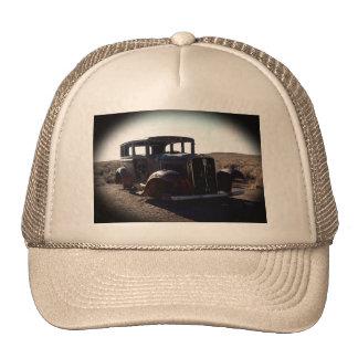 Photo de chapeau de vieille voiture casquette