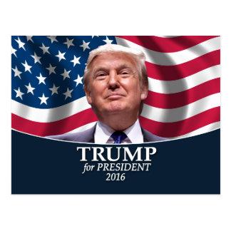 Photo de Donald Trump - président 2016 Carte Postale