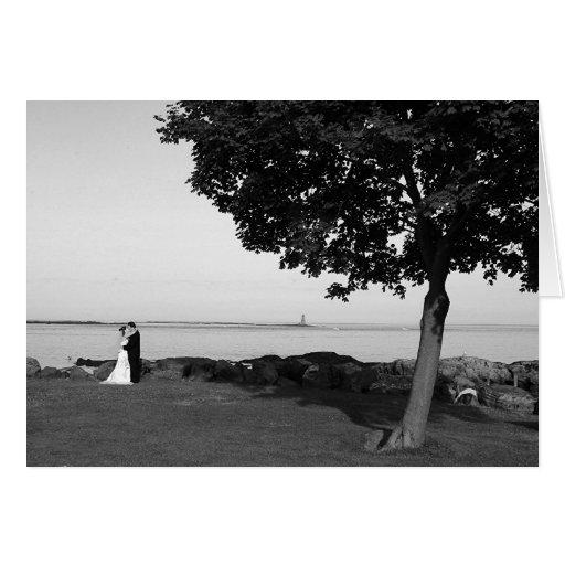 Photo de mariage de Baker B&W Carte De Vœux