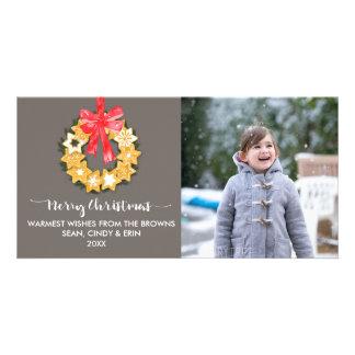 Photo de Noël de Pepparkakor Cartes De Vœux Avec Photo