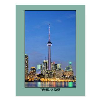 Photo de tour de NC de Toronto, Canada Carte Postale