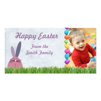 Photo easter card photo greeting card