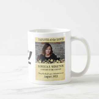 Photo employee of the month ROCK STAR GOLD Coffee Mug