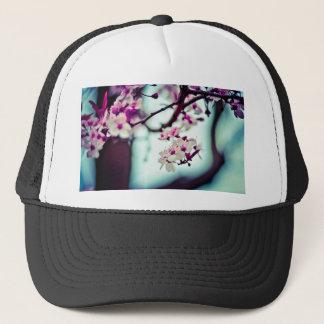 Photo en pastel de fleurs de cerisier casquette