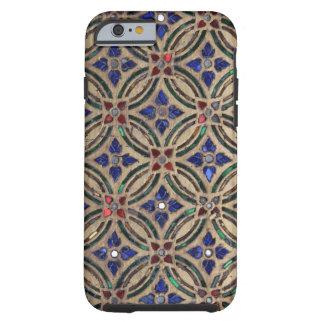 Photo en verre Maroc de pierre de motif de tuile d