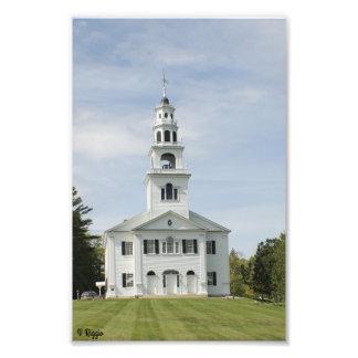 Photo Enlargement - New England Church