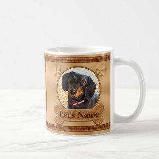 Photo et cadeaux personnalisés de mémorial mug blanc