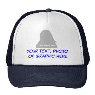 Photo et casquette de message