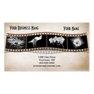 Photo Film Strip Business Card
