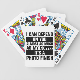 Photo Finish Bicycle Playing Cards