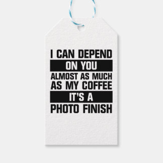 Photo Finish Gift Tags