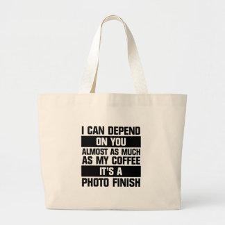Photo Finish Large Tote Bag