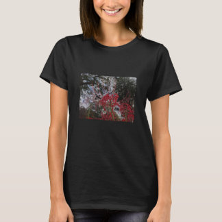 Photo - Flowers and forest and sky T-Shirt