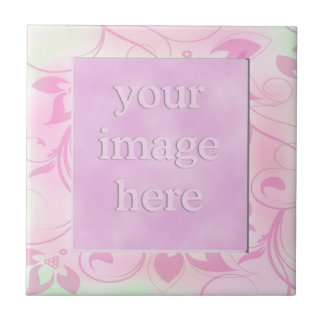Photo Frame Ceramic Tiles:Pink Ceramic Tile