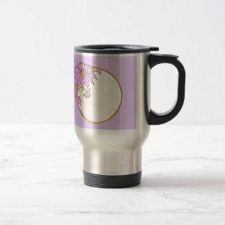 PHOTO FRAME PORTRAIT WITH Lilac  Flowery Frame Mug