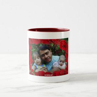 photo frame Two-Tone coffee mug