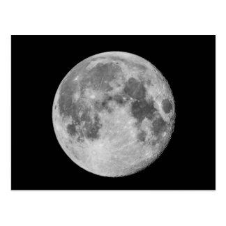 Photo - Full Moon Postcard