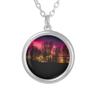 photo gifts silver plated necklace