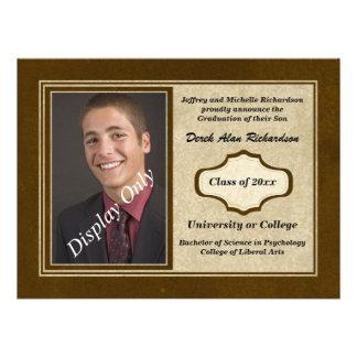 Photo Graduation Announcement and Invitation