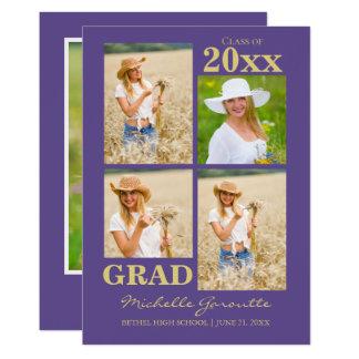 Photo Graduation Announcement Card