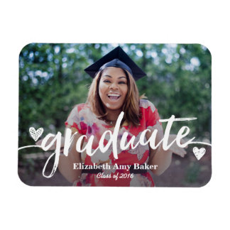 Photo Graduation Announcement Magnet