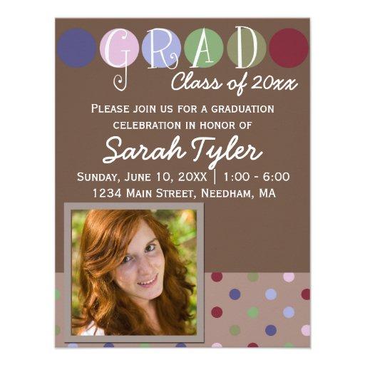 Photo Graduation Invite