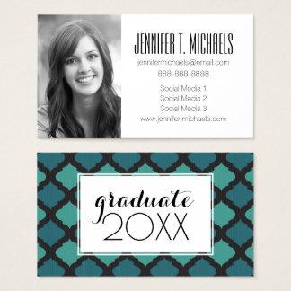 Photo Graduation | Mosaic Arabic Business Card