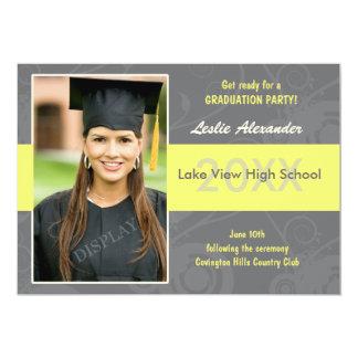 Photo Graduation Party Invitation
