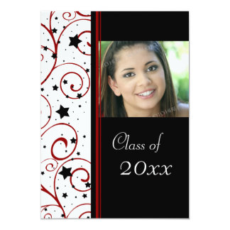 "Photo Graduation Party Invitation 5"" X 7"" Invitation Card"