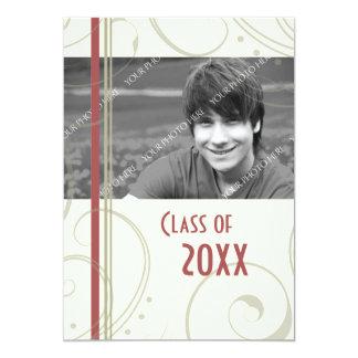 "Photo Graduation Party Invitation Card 5"" X 7"" Invitation Card"