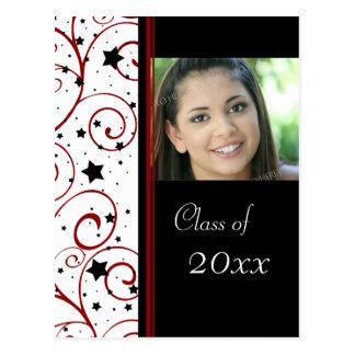 Photo Graduation Party Invitation Postcards
