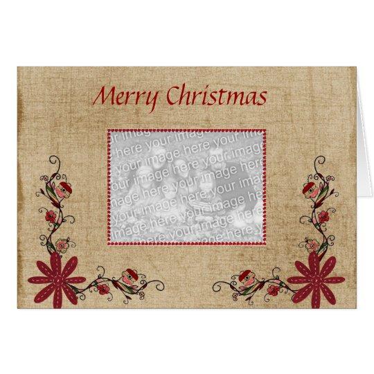 Photo Greeting Card - Merry Christmas