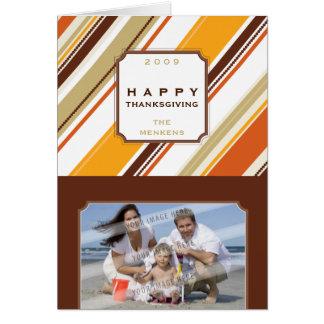 PHOTO GREETING CARD :: season striped AP4