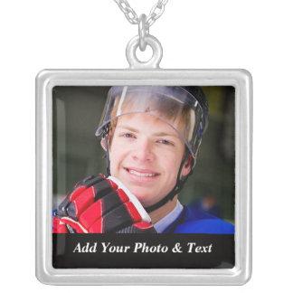 Photo Ice Hockey Sports Necklaces