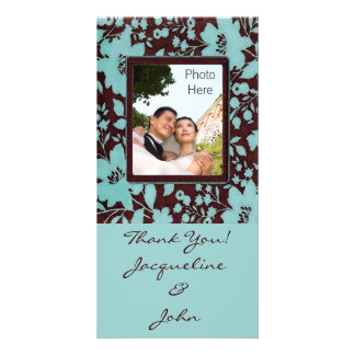 Photo Insert Cards ~ Thank You Wedding Pic Cards