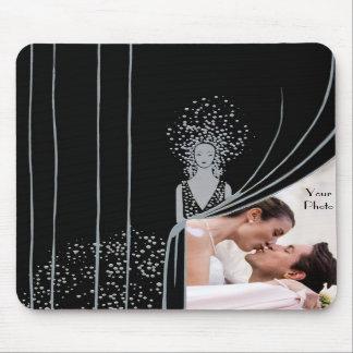 PHOTO Insert Curtain Fashion Plate Nouveau Mousepads