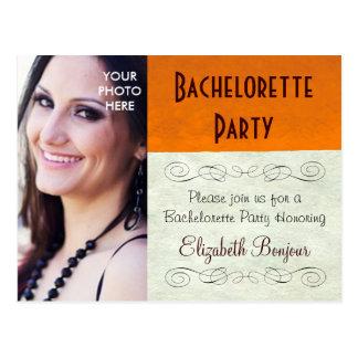 PHOTO INSERT ~ Postcard / Invitation Bachelorette