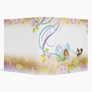Photo Keepsake with a Fairy & a Butterfly Vinyl Binder