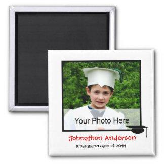 Photo Kindergarten Graduation Announcement Magnet