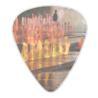 photo médiators, outlines man pearl celluloid guitar pick