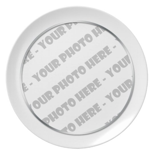 "Photo Melamine 10"" Plate - Create Your Own"