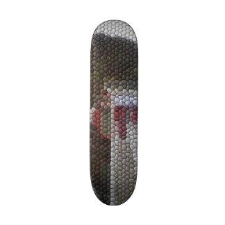 Photo mosaic skate board
