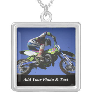 Photo Motocross Sports Necklaces