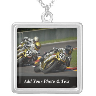 Photo Motorcycle Racing Sports Necklaces